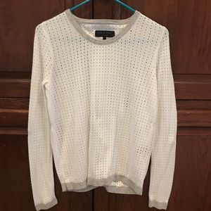 Rag & Bone white sweater size S